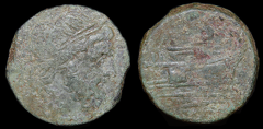 Cr. 41/6e anonymous post-semilibral semis, 215-212 BC