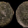 Cr. 340/4 L. Calpurnius Piso Frugi Æ as, 90 B.C., Rome mint