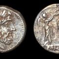 Cr. 90/2 Anonymous victoriatus, uncertain mint, 211-208 B.C.