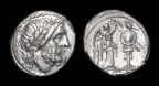 Cr. 67/1 Anonymous AR Victoriatus, 211-208 B.C., Sicilian Mint
