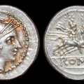 Cr. 45/2 anonymous quinarius, after 211 B.C., uncertain mint