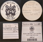 McCabe tags and CNG e-436 lot 459 tag for Cr. 337/5 as