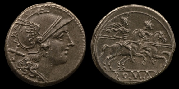 Cr. 53/2 Group D2/Group 6, 206 B.C., Apulian or Campanian mint