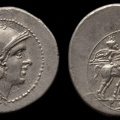Cr. 46(a)/1 Anonymous denarius, after 211 BC, uncertain mint - Not in RRC